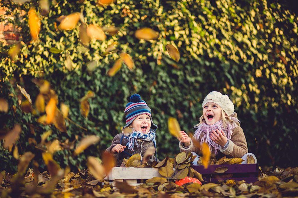sesja dziecięca jesień Włocławek
