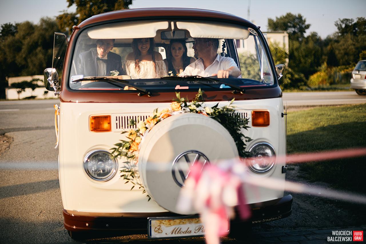 transport na weselu