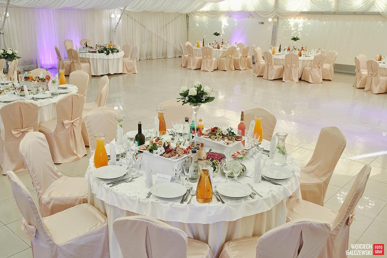 wielkość sali weselnej